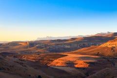 Nationaal het Parkpanorama van Golden Gatehooglanden, Zuid-Afrika Royalty-vrije Stock Foto