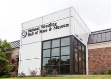 Nationaal het Worstelen Hall of Fame en Museum bij de Staat Uni van Oklahoma Royalty-vrije Stock Afbeeldingen