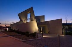 Nationaal Holocaustmonument bij Nacht Royalty-vrije Stock Afbeeldingen