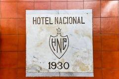 Nationaal Hotel - Havana, Cuba stock foto