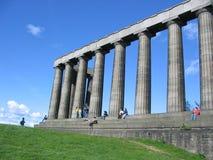Nationaal Monument, Edinburgh stock afbeeldingen