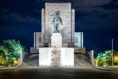 Nationaal Monument in Vitkov in Praag, Tsjechische republiek Stock Afbeelding