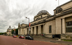 Nationaal Museum Cardiff royalty-vrije stock foto's