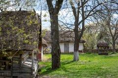 Nationaal Museum Pirogovo in in openlucht dichtbij Kiev stock afbeelding