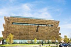 Nationaal Museum van Afrikaanse Amerikaanse Geschiedenis en Cultuur stock foto's