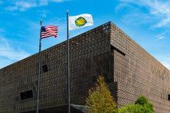 Nationaal Museum van Afrikaanse Amerikaanse Geschiedenis in Washington, gelijkstroom Royalty-vrije Stock Foto
