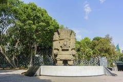 Nationaal Museum van Antropologie (Museo Nacional DE Antropologia, Stock Foto