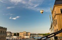 Nationaal Museum van Beeldende kunsten dichtbij Meer Malaren, Stockholm, Zweed stock foto's