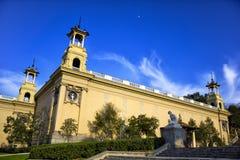 Nationaal museum van Catalaans visueel art. Stock Foto