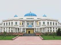 Nationaal museum van geschiedenis in Ashgabat Royalty-vrije Stock Foto
