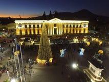Nationaal Paleis El Salvador Royalty-vrije Stock Foto's