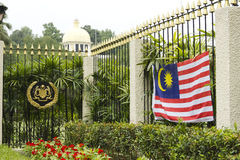 Nationaal Paleis van Maleisië stock afbeelding