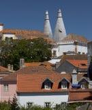 Nationaal paleis van Sintra royalty-vrije stock foto's