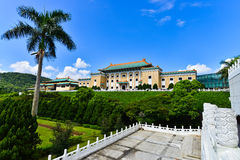 Nationaal Paleismuseum in Taipeh, Taiwan Stock Afbeeldingen