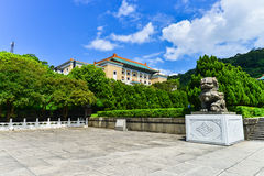 Nationaal Paleismuseum in Taipeh, Taiwan Stock Afbeelding