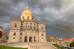 Nationaal Pantheon Lissabon, Portugal Stock Fotografie