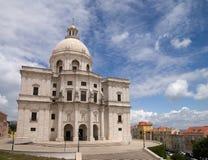 Nationaal Pantheon van Portugal, Lissabon stock foto