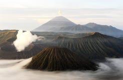 Nationaal park bromo-Tengger-Semeru op het Eiland Java royalty-vrije stock fotografie