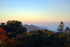 Nationaal Park Doi Inthanon Royalty-vrije Stock Afbeeldingen
