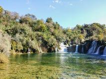 Nationaal Park Krka Royalty-vrije Stock Afbeelding