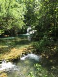 Nationaal Park Krka Royalty-vrije Stock Afbeeldingen