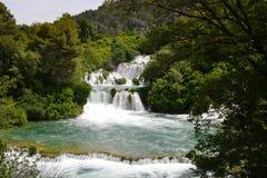 Nationaal park Krka (Kroatië) Stock Afbeeldingen