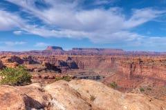 Nationaal park-Naalden Utah-Canyonlands District royalty-vrije stock afbeeldingen