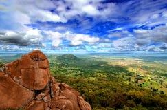 Nationaal Park Niokolo Koba in Senegal Royalty-vrije Stock Foto's