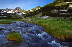 Nationaal Park Retezat royalty-vrije stock fotografie