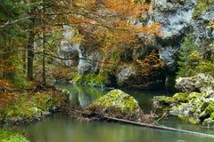 Nationaal park - Slowaaks paradijs, Slowakije royalty-vrije stock afbeeldingen