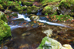 Nationaal park - Slowaaks paradijs, Slowakije royalty-vrije stock fotografie