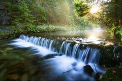 Nationaal park - Slowaaks paradijs, Slowakije stock foto