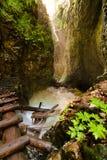 Nationaal park - Slowaaks paradijs, Slowakije royalty-vrije stock foto