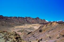 Nationaal Park Teide Stock Afbeeldingen