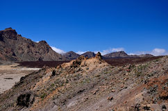 Nationaal Park Teide Royalty-vrije Stock Afbeelding