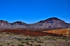 Nationaal Park Teide Royalty-vrije Stock Afbeeldingen