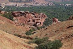 Nationaal Park Toubkal in Marokko Stock Foto