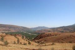 Nationaal Park Toubkal in Marokko Royalty-vrije Stock Foto's