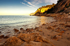 Nationaal Park van Arrabida. Stock Fotografie