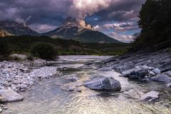 Nationaal park van ordesa, Spanje royalty-vrije stock afbeeldingen