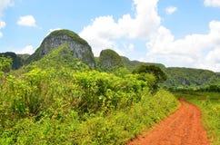 Nationaal park Vinales Stock Afbeeldingen