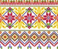Nationaal patroon voor het Oekraïense overhemd Royalty-vrije Stock Foto's