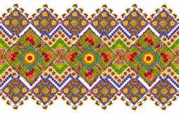 Nationaal patroon voor het Oekraïense overhemd Stock Afbeelding