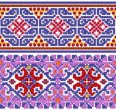 Nationaal patroon voor het Oekraïense overhemd Stock Afbeeldingen