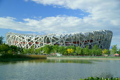 Nationaal stadion Stock Foto's