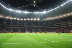 Nationaal Stadion in Warshau Stock Fotografie