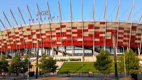 Nationaal stadion in Warshau royalty-vrije stock afbeeldingen