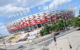 Nationaal Stadion in Warshau, Polen Royalty-vrije Stock Afbeeldingen