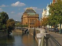 Nationaal Theater 04 van Praag Stock Afbeelding