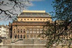Nationaal theater stock afbeeldingen